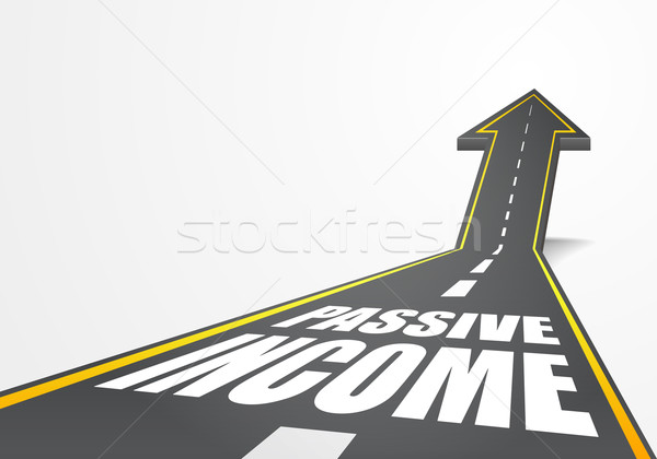 Road Passive Income Stock photo © unkreatives