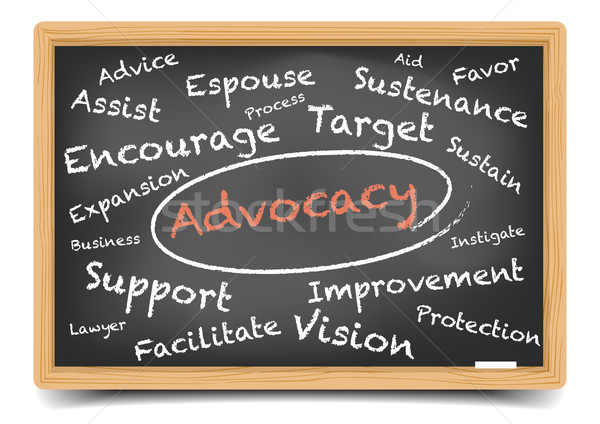 Advocacy Wordcloud Stock photo © unkreatives
