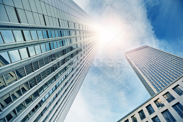Frankfurt Skyscraper Stock photo © unkreatives