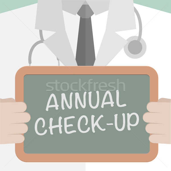 Annual Checkup Stock photo © unkreatives