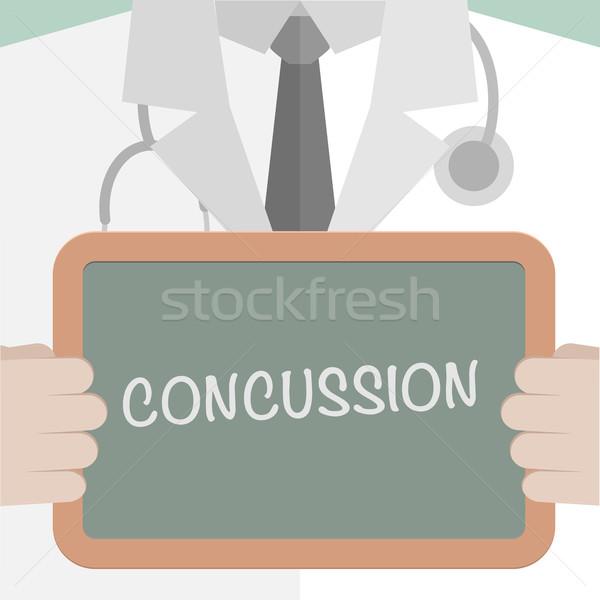 Stockfoto: Medische · boord · illustratie · arts