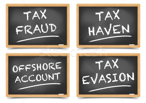 Tax fraud concepts Stock photo © unkreatives