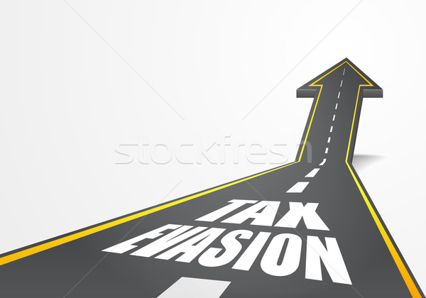 Road to Tax Evasion Stock photo © unkreatives