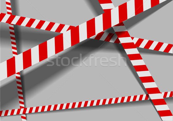Warning Lines Background Stock photo © unkreatives