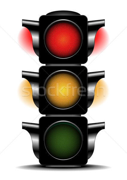 traffic light Stock photo © unkreatives