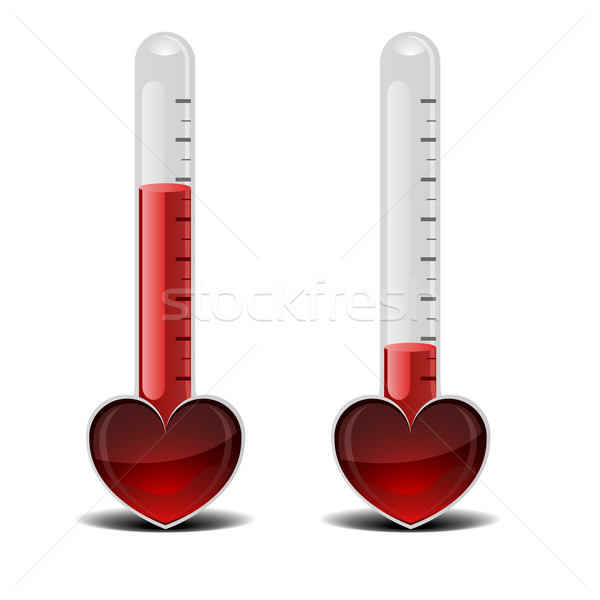 love thermometer Stock photo © unkreatives