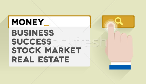 search money Stock photo © unkreatives