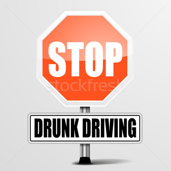 Stop Drunk Driving Stock photo © unkreatives