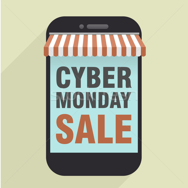 phone Cyber Monday Stock photo © unkreatives