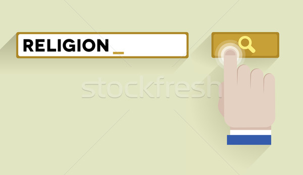 search religion Stock photo © unkreatives