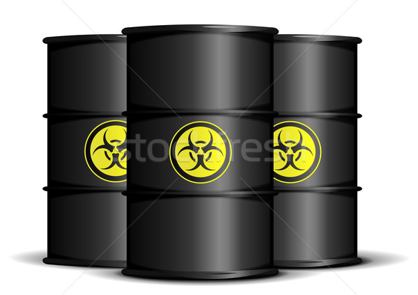 biohazard waste barrels Stock photo © unkreatives