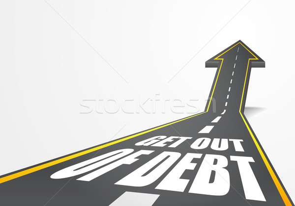 Get out of Debt Stock photo © unkreatives