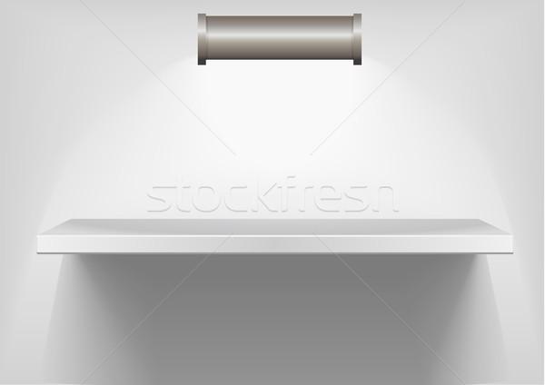 white shelve Stock photo © unkreatives