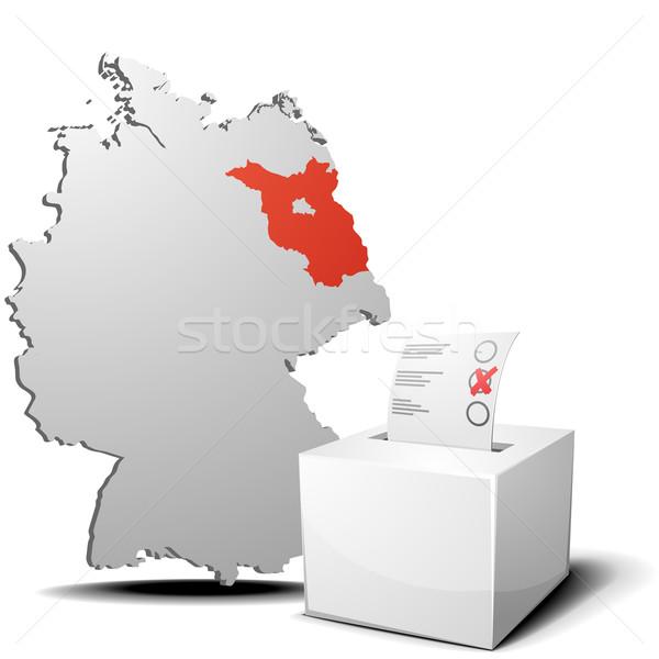 vote germany brandenburg Stock photo © unkreatives