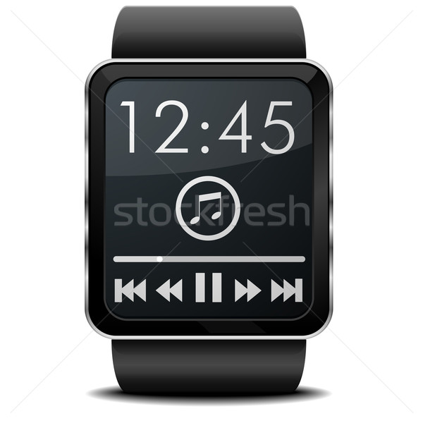 Smartwatch Music Stock photo © unkreatives