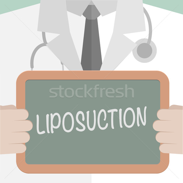 Médicaux bord liposuccion illustration médecin Photo stock © unkreatives