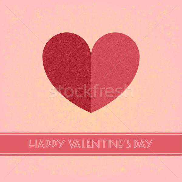 valentines day retro Stock photo © unkreatives