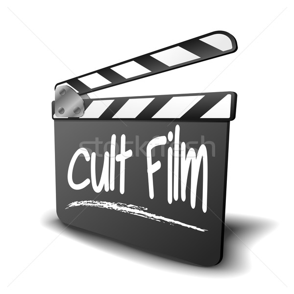 Clapper Board Cult film Stock photo © unkreatives