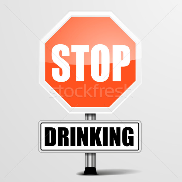 Stock photo: Stop Drinking