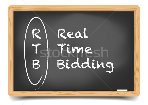 Real Time Bidding Stock photo © unkreatives