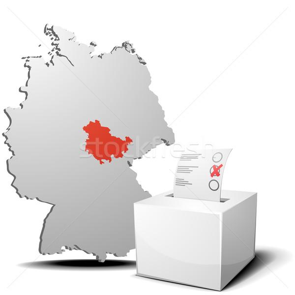 vote germany thuringia Stock photo © unkreatives