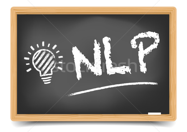 Blackboard Concept NLP Stock photo © unkreatives