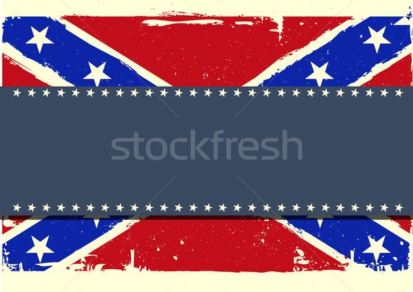 confederation flag background Stock photo © unkreatives