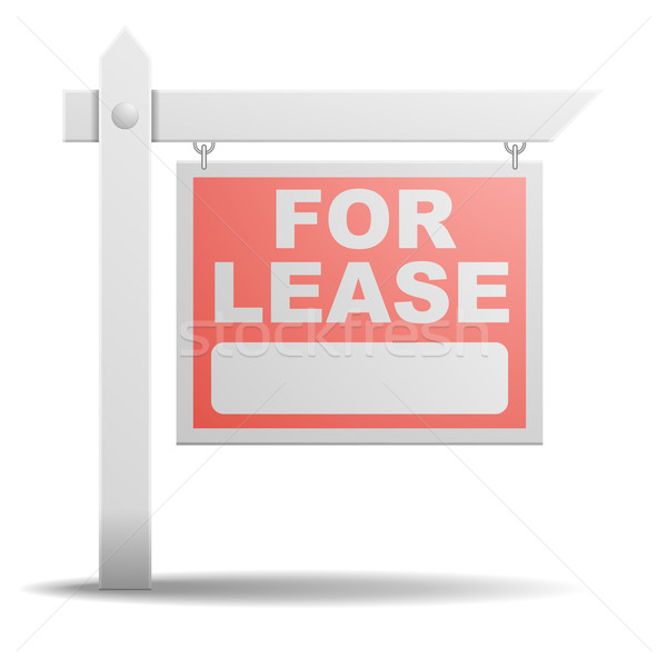 Sign For Lease Stock photo © unkreatives
