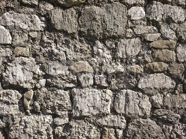 Steinmauer Textur Bau abstrakten Hintergrund rock Stock foto © unkreatives