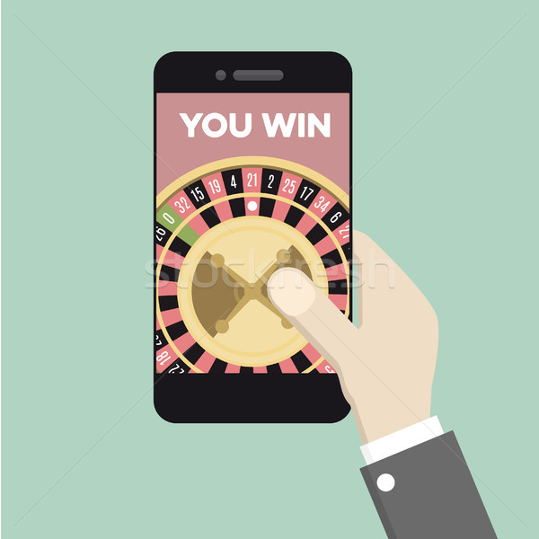 phone Roulette Gaming Stock photo © unkreatives