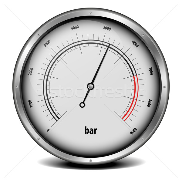 pressure meter Stock photo © unkreatives