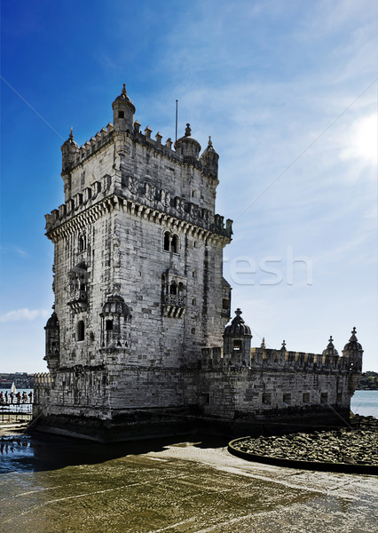 Lisbon Torre de Belem Stock photo © unkreatives