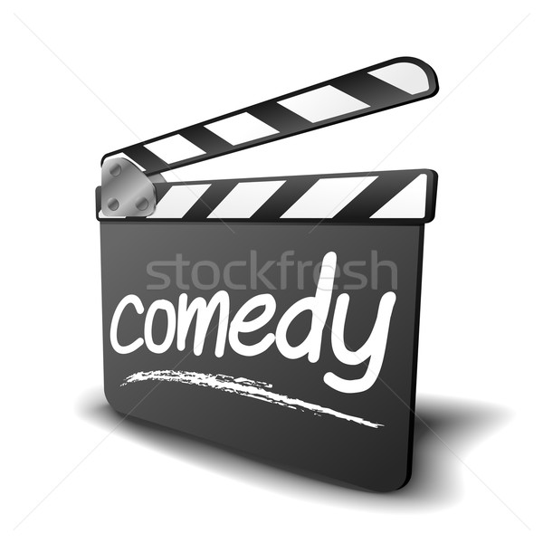 clapper board comedy Stock photo © unkreatives