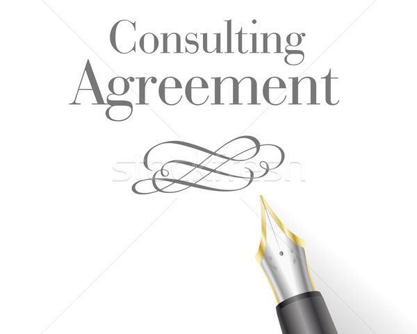 Consulting Agreement Stock photo © unkreatives