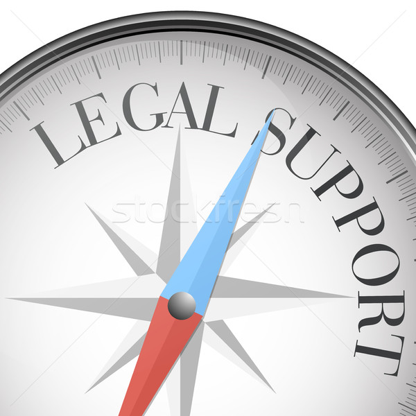 compass Legal Support Stock photo © unkreatives