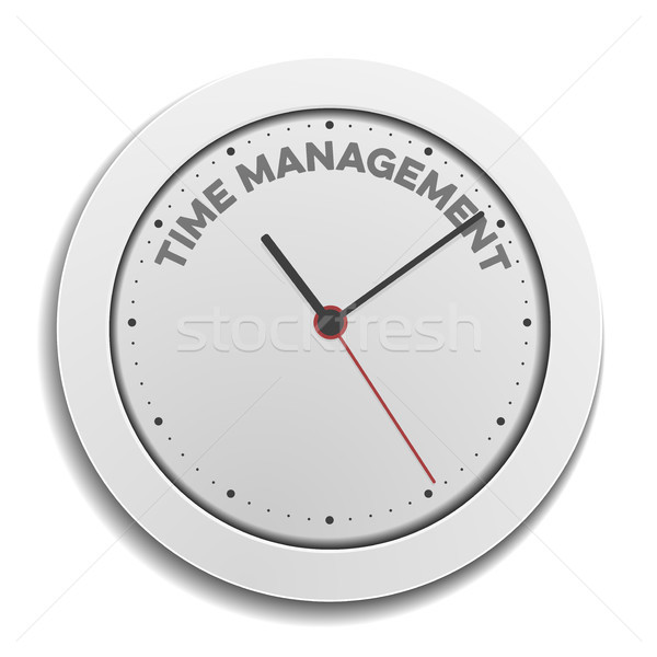 clock time Management Stock photo © unkreatives