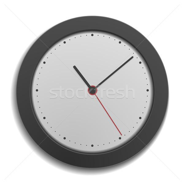 simple modern clock Stock photo © unkreatives