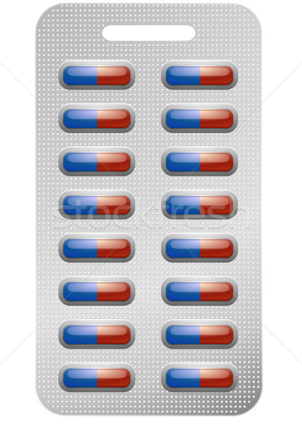 pack of pills Stock photo © unkreatives