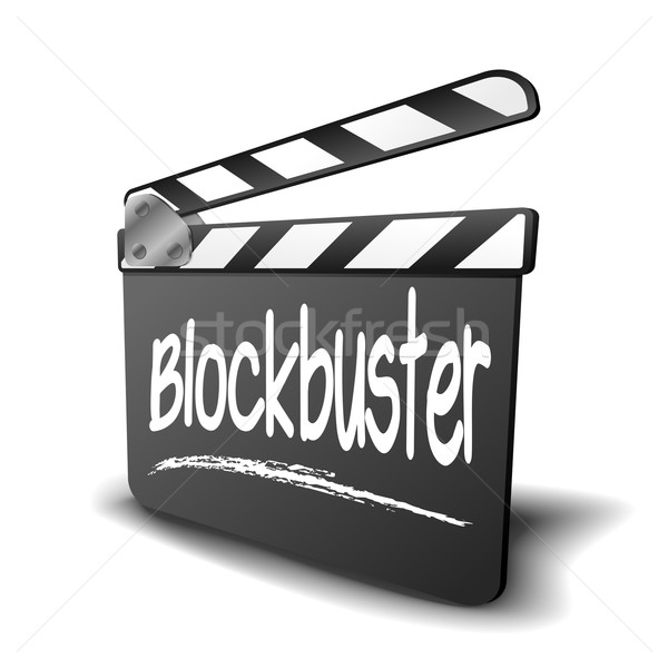 Clapper Board Blockbuster Stock photo © unkreatives