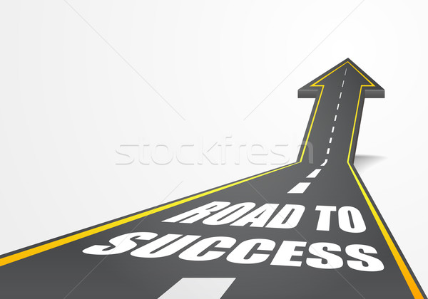 Road to Success Stock photo © unkreatives