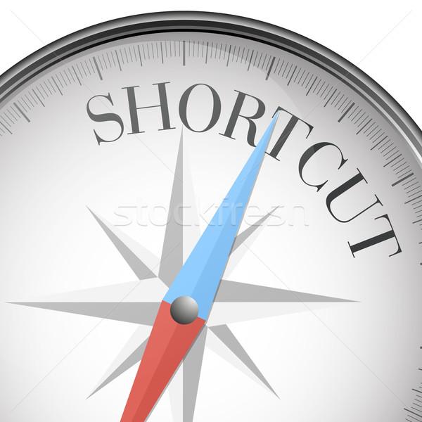 compass shortcut Stock photo © unkreatives