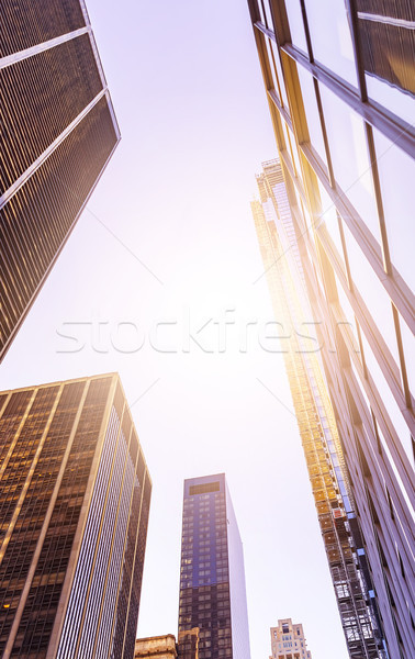 multiple office towers Stock photo © unkreatives