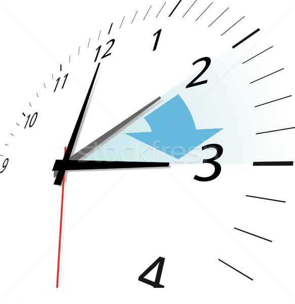daylight saving Stock photo © unkreatives