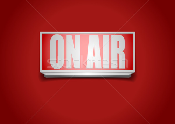 On Air Sign Stock photo © unkreatives