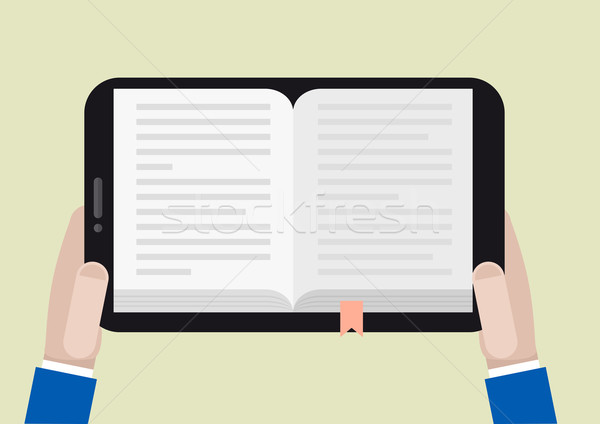 tablet ebook Stock photo © unkreatives