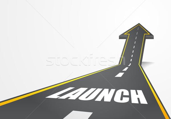 road launch Stock photo © unkreatives