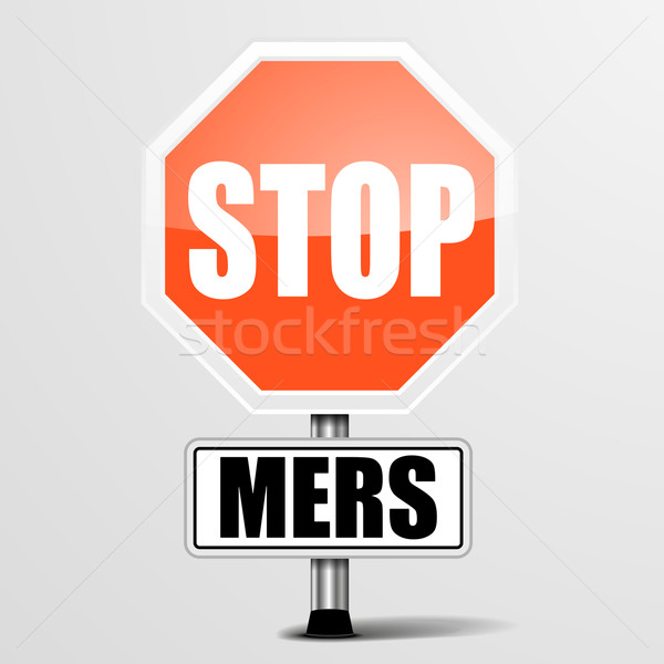 Stop MERS Stock photo © unkreatives