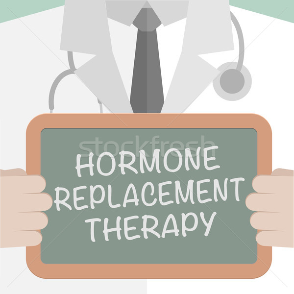 Hormone Replacement Therapy Stock photo © unkreatives