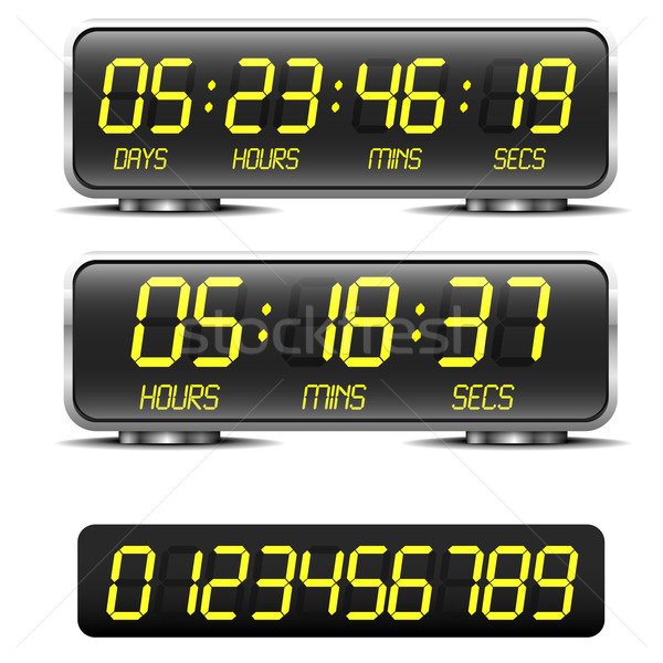 countdown timer Stock photo © unkreatives