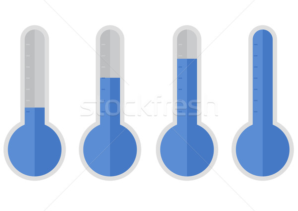 Ilustración azul diferente médicos fondo verano Foto stock © unkreatives